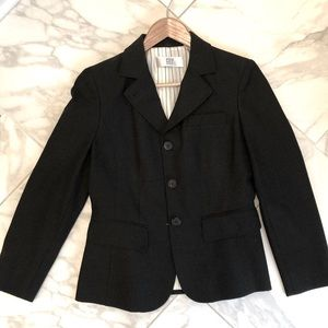 DKNY City charcoal gray jacket blazer